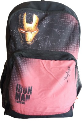 Skybags Sb Marvel Champ Iron Man 05 Red 25 L Backpack(Black)