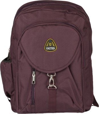 United Bags Buckle Front All Prpl 35 L Medium Backpack
