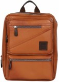 Tortoise Leather 25 L Backpack (Brown)