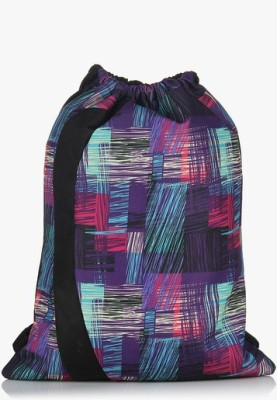 President Drawstring Neo-Red Multi 2 L Small Backpack