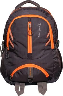 Attache Dazzling School Bag (Purple ) 30 L Backpack