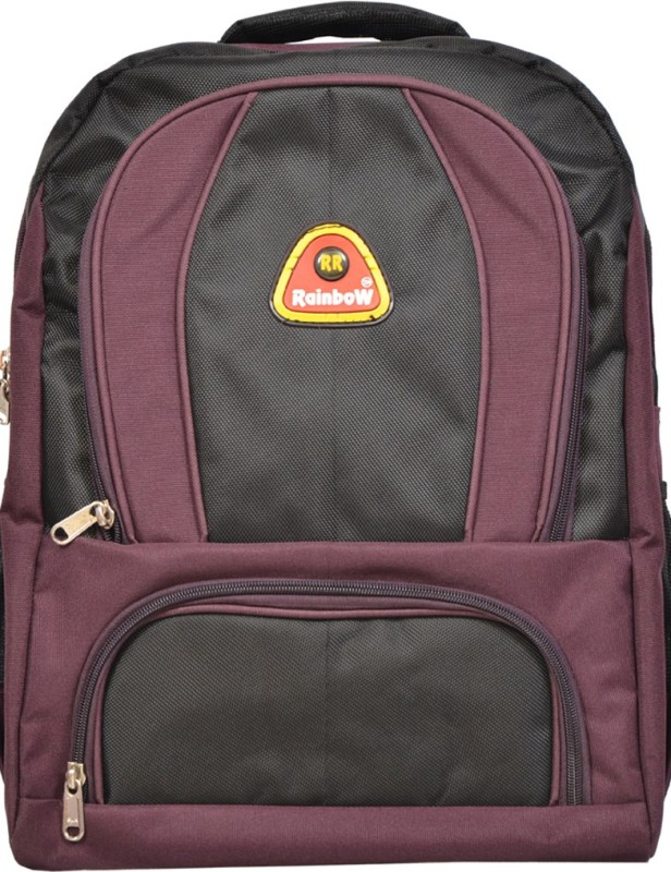 Rr Rainbow Vista 30 L Laptop Backpack(Purple, Black)