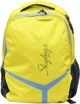 Skybags Flash 02 Yellow Casual 12 L Laptop Backpack