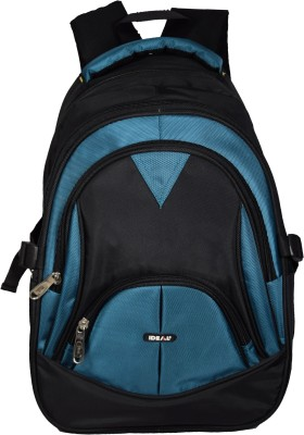 Ideal Advert 25 Litres Blue and Black College/Casual/School 25 L Laptop Backpack
