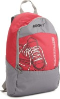 Wildcraft Spring 18 L Small Backpack(Grey, Red)