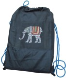 Indha Craft Elephant Print 5 L Backpack ...