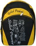 Bueva SLDP 25 L Backpack (Black, Yellow)