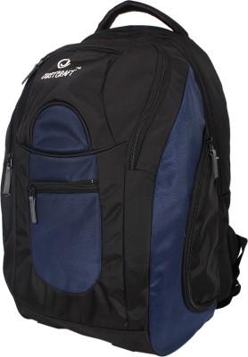 Justcraft Jabbaz Black and Blue 55 L Laptop Backpack