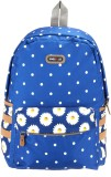 Bags R Us Polka Dots 18 L Backpack (Blue...