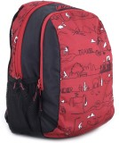 Wildcraft Scoot LD Backpack (Red, Black)