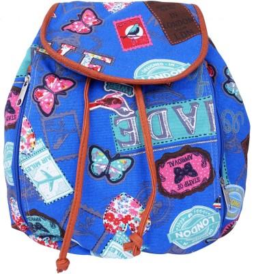 Super Drool Blue International Traveller 7 L Backpack