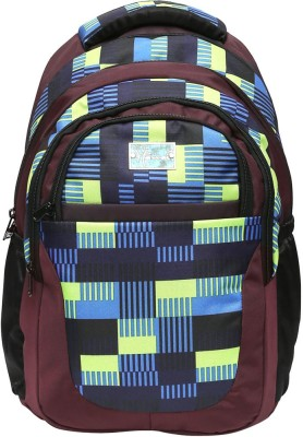 Hawai Multi checkered 15.4 L Medium Backpack