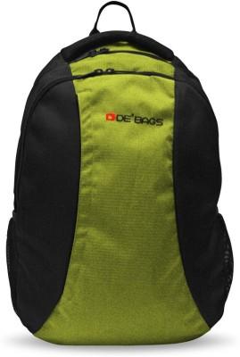 De, Bags Trio-Green 15 L Backpack