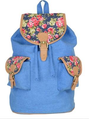 Amryk Blue Print Beauty 8 L Backpack