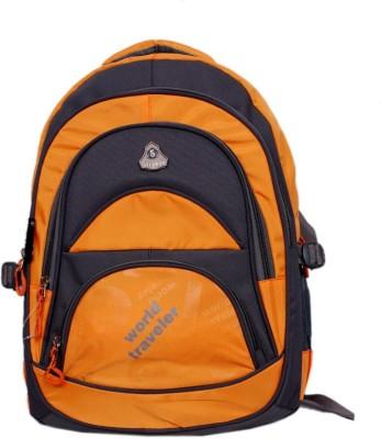 Stryker Stryker 32 Liter Laptop Bagpack - Orange - Grey 32 L Laptop Backpack
