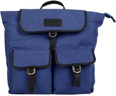 Hidegear Canvas Leather 14 L Medium Backpack