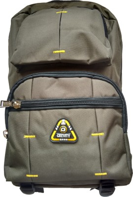 Grevity Green School Bag With Laptop Compatibility 23.86 L Large Backpack