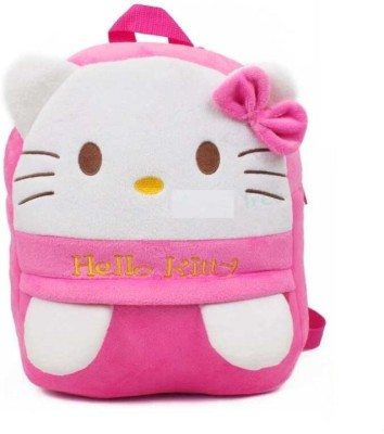 c78096e1c8 Royle Katoch HELLO KITTY SMALL BABY PLUSH SCHOOL BAG With Adorable Cartoon  Character 12 L Backpack