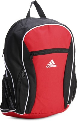 Adidas ADI ESTADIO BP 25 L Backpack(Black, Red)
