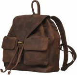 Leaderachi Milan 15 L Backpack (Brown)