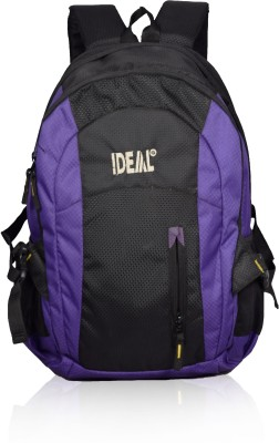 Ideal Shield Purple and Black 25 L Laptop Backpack