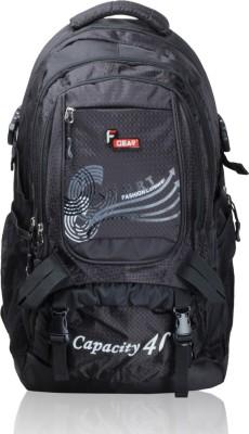 F Gear Firefly Black Rucksack  - 40 L
