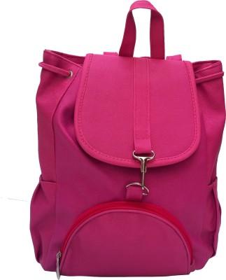 Vintage Stylish Ladies (bag 127) 12.5 L Backpack(Pink)