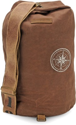The House of Tara Canvas Rucksack 29 L Backpack(Rustic Brown)