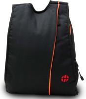 Harissons Bling 18 L Small Backpack(Black, Orange) best price on Flipkart @ Rs. 606