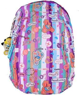 Super Drool Multi colour Hapiness 12 L Backpack