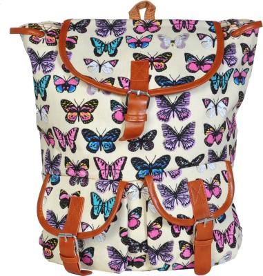 AVANEESH TRENDY BUTTERFLY BEIJE 10 L Backpack