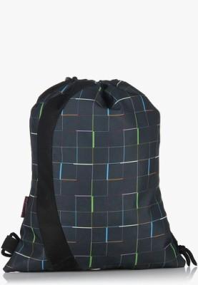 President Drawstring Neo-Grey Multi 2 L Small Backpack