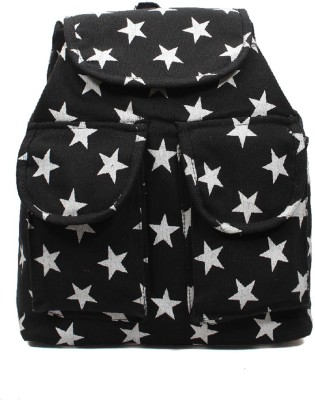 Pochette Girls & Women Black 10 L Backpack