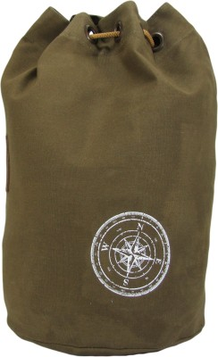 The House of Tara Wax Coated Cotton Canvas Rucksack 21 L Backpack