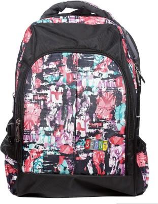 Raeen Plus Black/-Colourfull-Sport 10 L Backpack