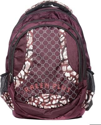 Raeen Plus Dark-Brown-Designer-Series 10 L Backpack