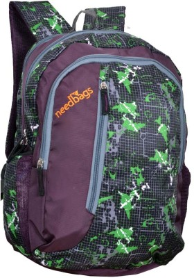 NEEDBAGS Cb-Print-01 24 L Medium Backpack