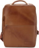 Tortoise Leather 20 L Backpack (Brown)