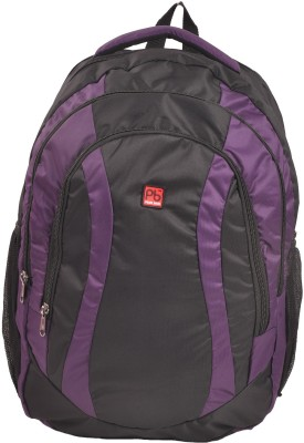 Pearl Bags Unisex Stylish Lightweight School College Bags 1940 Purple 34 L Backpack