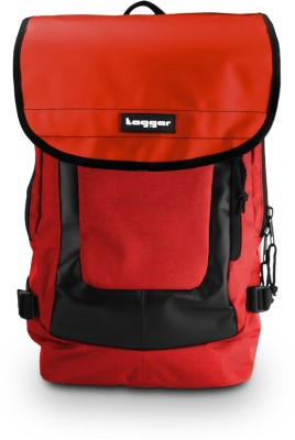 Tagger Urban Electro Red Bbrd  Top Loaded Ultimate 21 L Laptop Backpack