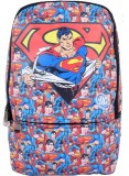 Super Drool Red Comic Laptop 7 L Backpac...
