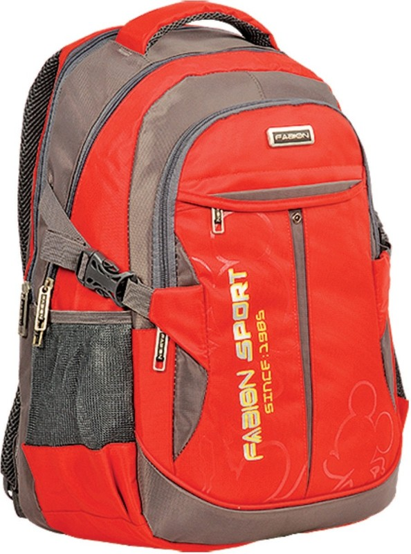 Fabion Grey n Red 36 L Large Backpack(Red)