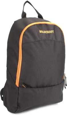 Wildcraft Leap Black Backpack(Black)