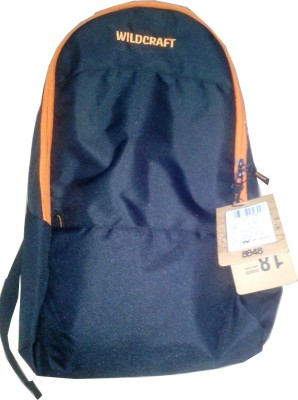 Wildcraft Leap Black Backpack