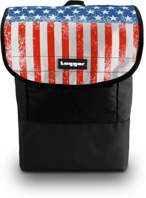 Tagger Phatpack Stars & Stripes Bsly (Black) Executive 18 Inch Revolution 25 L Backpack