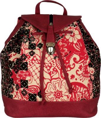 Kanvas Katha Printed fashion Canvas 10 L Backpack