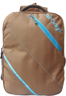 airbags 15.6 inch alta brown 3.5 L Laptop Backpack