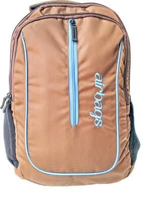 airbags 15.6 inch geo - 02 brown 33 L Laptop Backpack