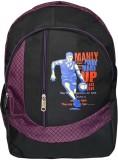 Bueva MUP 25 L Backpack (Black, Purple)