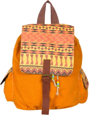 The House of Tara Printed Canvas 031 20 L Medium Backpack